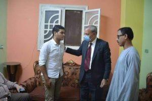 إطلاق أسم أمين الشرطة أشرف عبد العزيز على مدرسة قريته تخليدا لذكراه