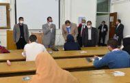 جامعة سوهاج تواصل امتحانات الفصل الدراسي الأول في ثاني أيامها