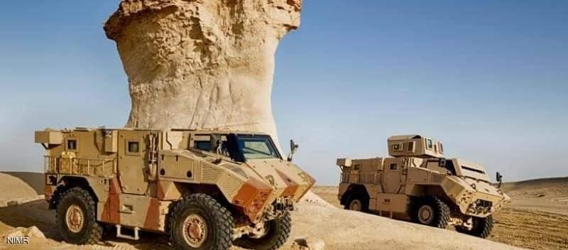 إنتاج الآليات العسكرية المدولبة اتفاقية تعاون مع الشركة السعودية