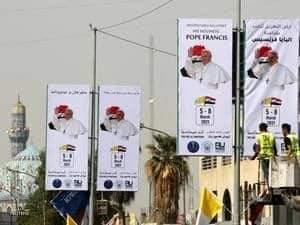 العراق.. الاستعدادات للزيارة البابا تجري على قدم وساق
