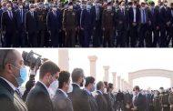 الرئيس السيسى القائد الاعلى للقوات المسلحة يتقدم جنازه الفقيد الراحل كمال الجنزوري