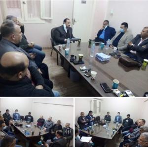 عبد الفتاح: بناء القواعد الحزبية فى المراكز والأقسام وتنفيذ الخطط الشهرية لحزب الشعب الجمهوري