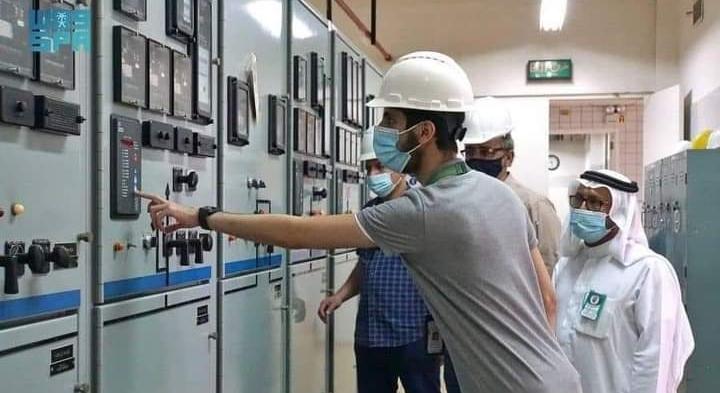 شؤون الحرمين تنفذ بنجاح تجربة التغذية الكهربائية للتأكد من جاهزية كهرباء المسجد الحرام لموسم رمضان