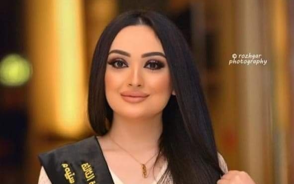 ساره نديم وصيفة ملكة جمال العراق :رفضت الظهور فى كليبات وأسعى للعمل مذيعه تلفزيونية