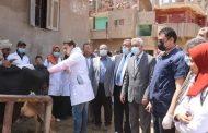 جامعة المنوفية تنظم قافلة متكاملة إلى قرية العراقية