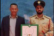 شرطة دبي تكرم المصري محمود عبدون