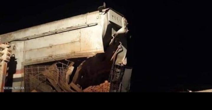 صورة من الحادث قطار السويس والتحقيق يكشف مفاجآت