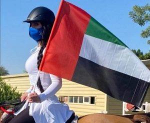 الفارسه مريم الصباغ :أواصل الاستعداد بجدية للبطولة الدولية القادمة بالفلبين