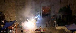 القدس في صدامات مع الشرطة الإسرائيلية