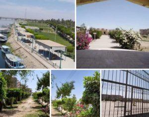 ظهور الحدائق و المتنزهات بدون رواد في شم النسيم يعكس وعى المواطنين بقنا
