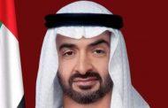 الشيخ محمد بن زايد آل نهيان يجري مباحثات هاتفية مع الرئيس الأميركي