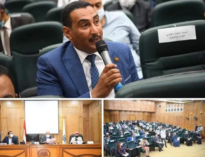 حضور النائب محمد الجبلاوى عضو مجلس النواب وكيل لجنة الطاقة والبيئة بمجلس النواب