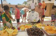 فندق مملوك صن ريز الغردقه يقيم مهرجان الفواكه لتنشيط السياح