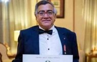 مسيرة ممتدة من العطاء للمصري فرنسيس أمين منحه وسام فارس -نجمة إيطاليا