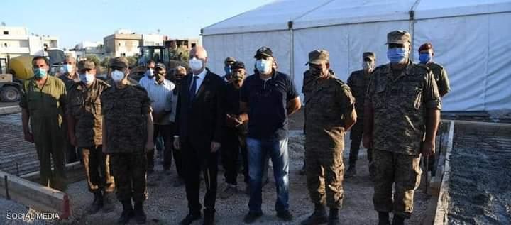 قيس سعيد يصدر أوامره للجيش بإدارة أزمة تفشي فيروس كورونا