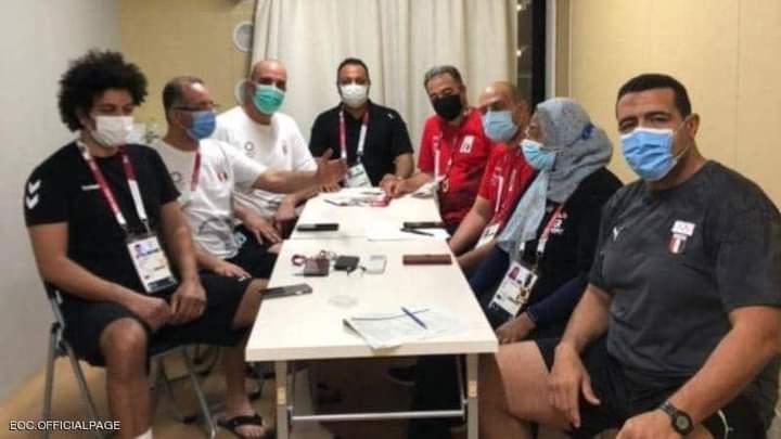 تفاصيل أول إصابة بكورونا في بعثة مصر بالأولمبياد بطوكيو
