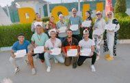 التربية الرياضية بشبين تحقق المركز الأول في لقاء سبورت فيت Sport Fit بجامعة بني سويف