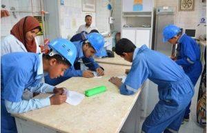 بدء التقدم لفصول مياه الشرب و الصرف الصحي للعام الدراسي ٢٠٢١-٢٠٢٢ بقنا