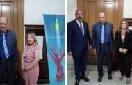 رئيس شبكة إعلام المرأة العربية يكرم 3شخصيات عراقية بارزة من بينهم السفيرة سلوى عزيز القيادية بالشبكة.