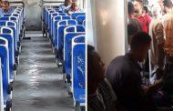 ماهى الحكمة من تفريغ اخر عربات قطار الركاب المتزاحمة