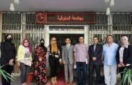 زياره مركز ضمان الجوده والاعتماد لتقديم الدعم الفني لكليه الحقوق جامعة المنوفية
