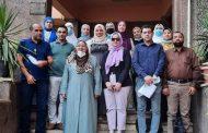 ختام دوره توصيف البرامج والمقررات بمركز ضمان الجودة والاعتماد جامعه المنوفيه