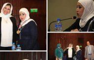 بالصور شبكة إعلام المرأة العربية تكرم الإعلامية أمنية بدر الدين هندا