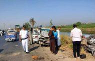 مصرع وإصابة ٥ أشخاص فى حادث مروع علی طريق الموت بقنا